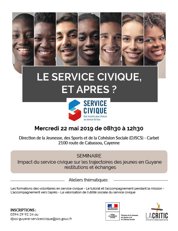 flyer seminaire service civique